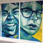 "Lavin-Bernick Center for University Life, ""BMike Murals"" at Tulane University image"